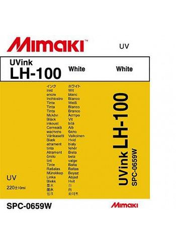 Inchiostro Mimaki UV LH-100 white cart. da 220ml