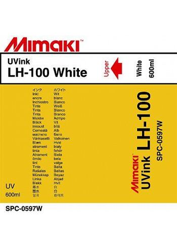 Inchiostro Mimaki LH-100 Uv Led White sacca 600ml