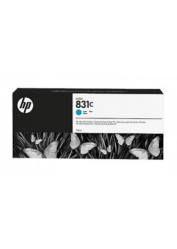HP 831C Cartuccia Latex 775ml Cyan