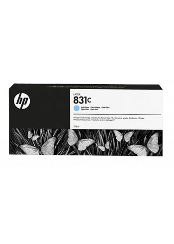 HP 831C Cartuccia Latex 775ml Light Cyano
